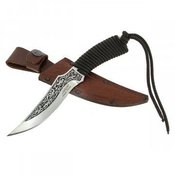 Разделочный нож Рыбак (сталь 65Х13, рукоять шнур-намотка)