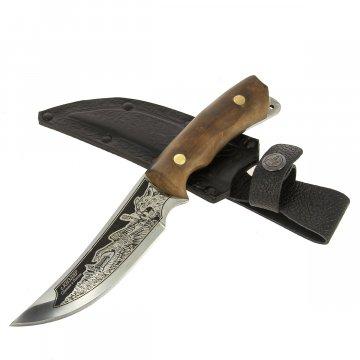 Разделочный нож Рысь (сталь 65Х13, рукоять дерево)