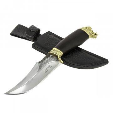 Разделочный нож Секач (сталь Х12МФ, рукоять черный граб)