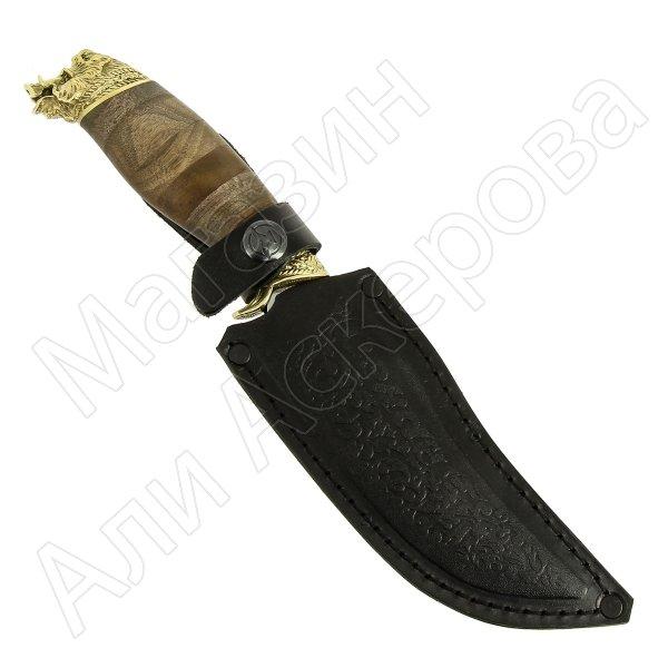 Разделочный нож Секач (сталь 65Х13, рукоять дерево) арт.7038