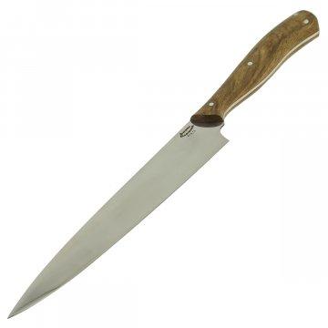 Кухонный нож Шеф (сталь 65Х13, рукоять дерево)