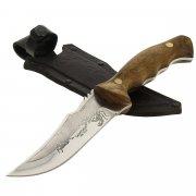 """Кизлярский нож разделочный """"Скорпион"""" (сталь - Х50CrMoV15, рукоять - дерево) арт.7923"""