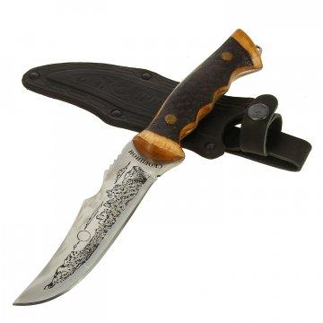 Нож Скорпион (сталь 65Х13, рукоять дерево)