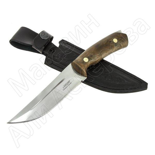 Разделочный нож Соболь (сталь 65Х13, рукоять орех)