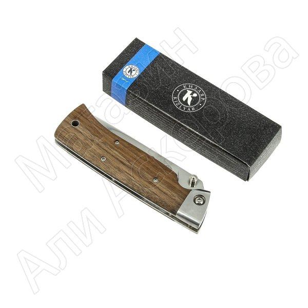 Складной нож Стерх Кизляр (сталь AUS-8, рукоять дерево)