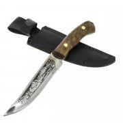 Разделочный нож Стриж (сталь 65Х13, рукоять дерево) арт.6775