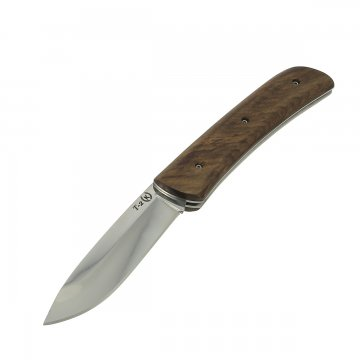"Кизлярский нож складной ""Т-2"" (сталь - Х50CrMoV15, рукоять - дерево)"