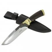 Разделочный нож Тайга (сталь Х12МФ, рукоять черный граб)