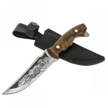 Разделочный нож Тарантул (сталь 65Х13, рукоять дерево)