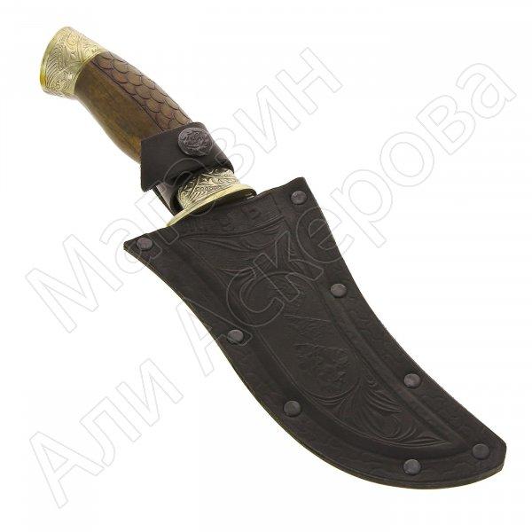 Разделочный нож Тур (сталь 65Х13, рукоять дерево)