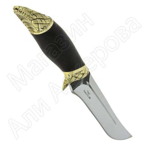 Разделочный нож Удав (сталь Х12МФ, рукоять черный граб)