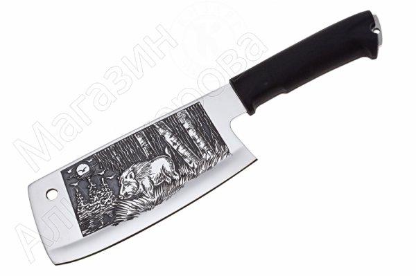 Топорик для разделки мяса Вепрь Кизляр (сталь AUS-8, рукоять эластрон)