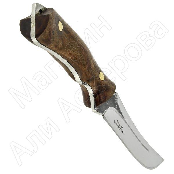 Разделочный нож Ястреб (сталь Х12МФ, рукоять орех)