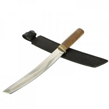 Нож Танто-3 (сталь 65Х13, рукоять дерево)
