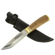 Нож Пиранья (сталь 65Х13, рукоять дерево)