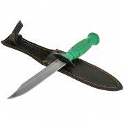 Нож НР-43 Вишня (сталь 65Г, рукоять резина)