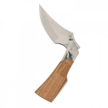 Складной нож Скорпион (сталь 65Х13, рукоять орех)