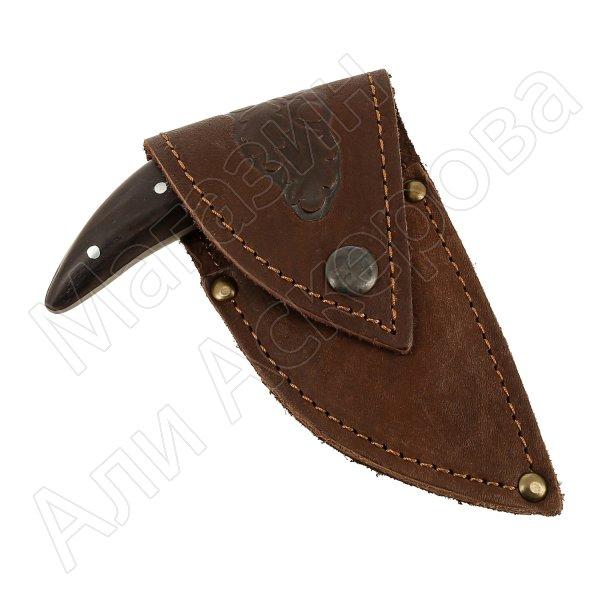Тычковый нож Пиранья-2 (сталь 65Х13, рукоять венге)