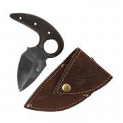 Тычковый нож Пиранья-2 (сталь У8, рукоять венге)