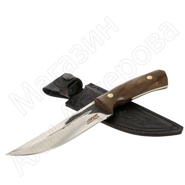 Нож Соболь (сталь D2, рукоять орех)
