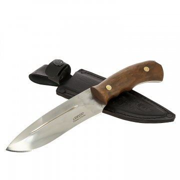 Нож Тайга (сталь D2, рукоять дерево)