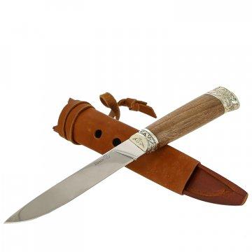 Нож Бичак Кизляр (сталь Z90, рукоять орех)
