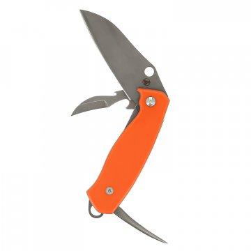 Складной нож Шлюпочный (сталь AUS-6, рукоять G10)