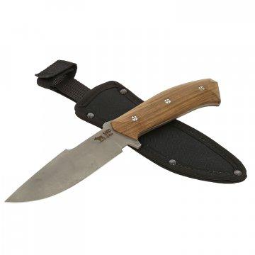 Нож Егерь (сталь AUS-6, рукоять дерево)