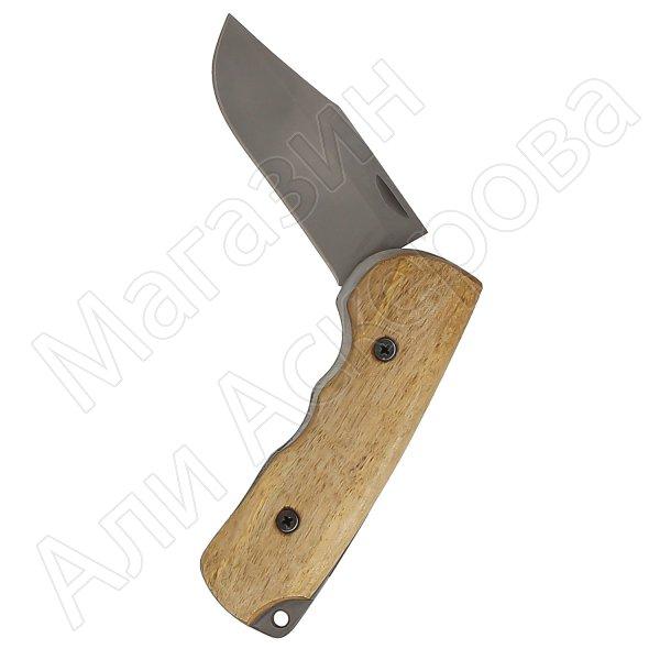 Складной нож Бекас (сталь 95Х18, рукоять орех)