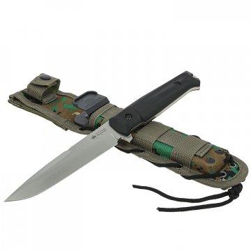 Нож Delta (сталь D2 SW, рукоять кратон, ножны камо)