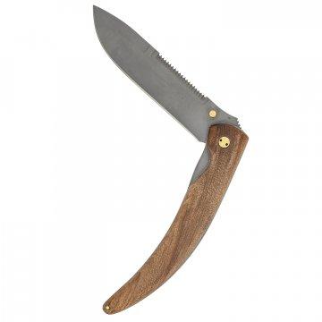 Складной нож Варвар (сталь 95Х18, рукоять - орех)