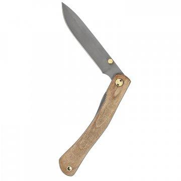 Складной нож Юнга (сталь 95Х18, рукоять - орех)