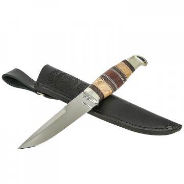 Нож Финский (сталь Х12МФ, рукоять карельская береза, венге)