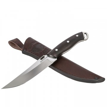 Нож Шторм (сталь D2, рукоять - черный граб)