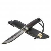 Нож Лиман (сталь ШХ15, рукоять черный граб, кориан)