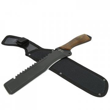 Нож Экспедиционный Саро (сталь 65Г, рукоять дерево)