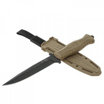 Нож НР-18 Кизляр (сталь AUS-8, рукоять эластрон песок)