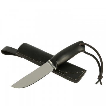 Нож Шмель (сталь D2, рукоять черный граб)