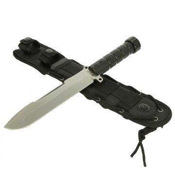 Нож для выживания Survivalist X Kizlyar Supreme (сталь D2, рукоять алюминий)