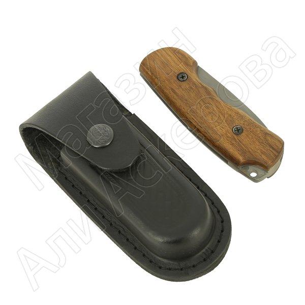 Складной нож Соболь (сталь 95Х18, рукоять орех)
