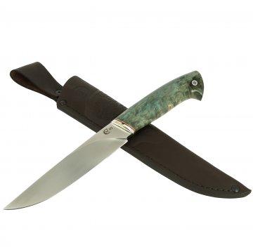 Нож Пантера (сталь D2, рукоять стабилизированная карельская береза)