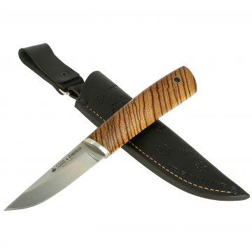 Нож Samoyed Kizlyar Supreme (сталь N690 SW, рукоять зебрано)