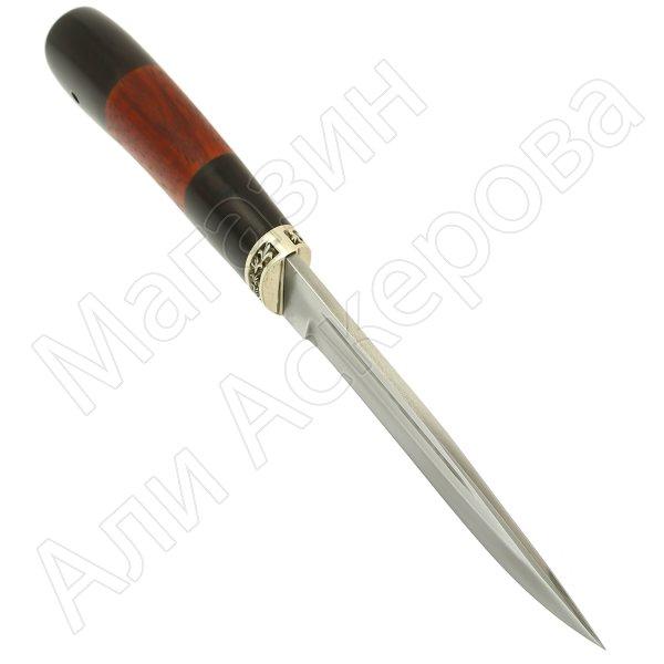 Нож Енот (сталь Х12МФ, рукоять черный граб, падук)