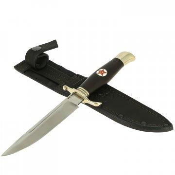 Нож Финка НКВД Звезда (сталь Х12МФ, рукоять черный граб)