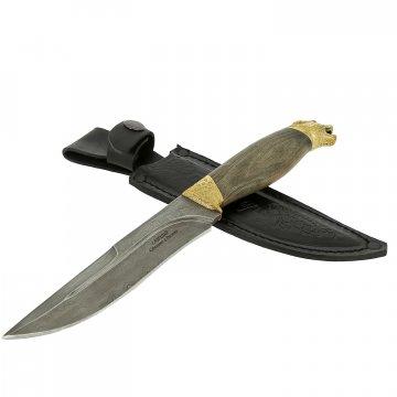Нож Пантера (дамасская сталь, рукоять граб)