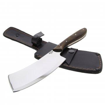 Кухонный топорик для разделки мяса Шеф (сталь 65Х13, рукоять орех)