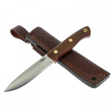 Нож Бушкрафт (сталь D2, рукоять микарта)