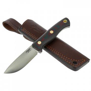 Нож Caribou (сталь D2, рукоять микарта)