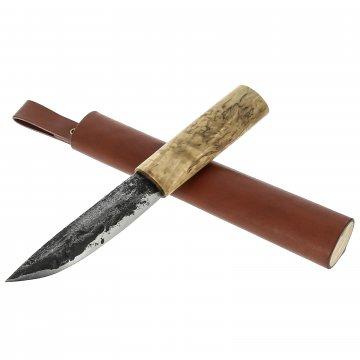 Нож Лиман Якутский (сталь Х12МФ, карельская береза)