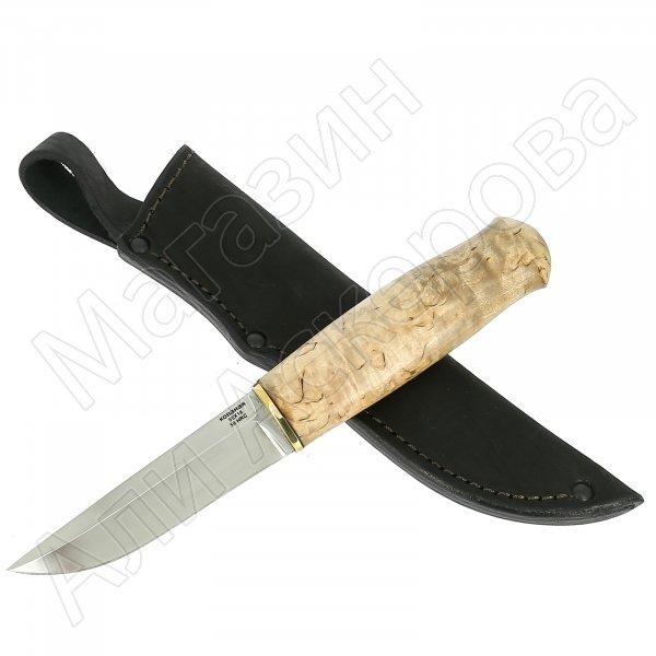 Нож Финский Ламми (сталь 95Х18, рукоять карельская береза)